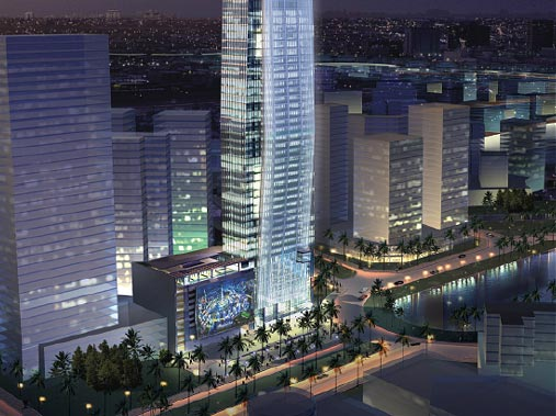 vision tower, Office