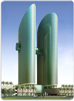 Emirates Financial towers, Office